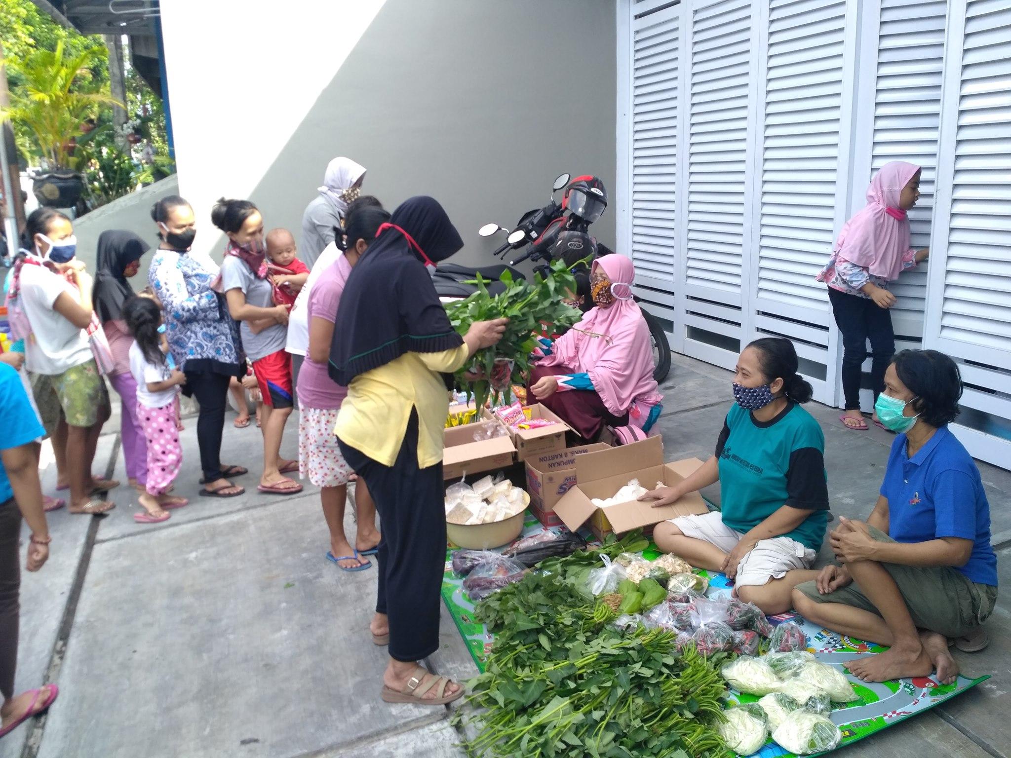 Market Canthelan Ngluwihi Mbagehi