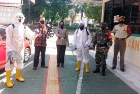 Anggota Oditurat Militer Terpapar Covid, Katana Bantu Penyemprotan